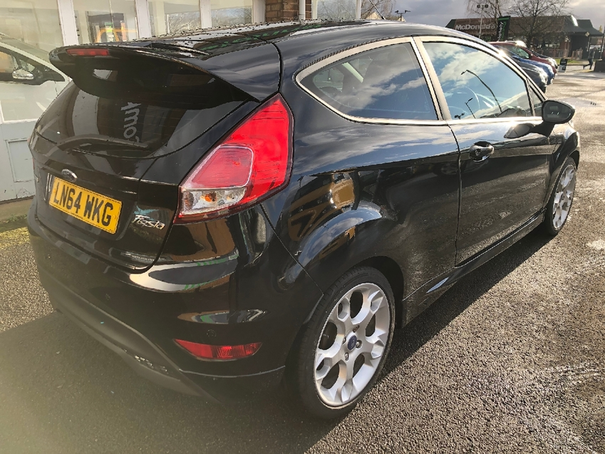 View FORD FIESTA 1.0T ECOBOOST 125BHP  ZETEC S 3DR BLUETOOTH